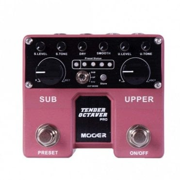 Twin Tender Octaver Pro Effects Pedal