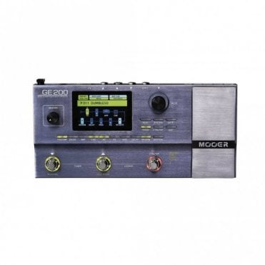 GE200 Amp Modelling & Multi Effects Processor Pedal