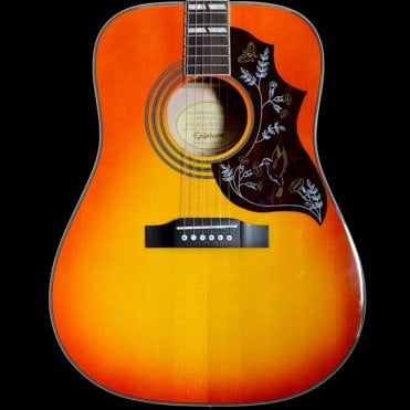 Hummingbird Pro Electro Acoustic Guitar in Cherry Sunburst, Pre-Owned