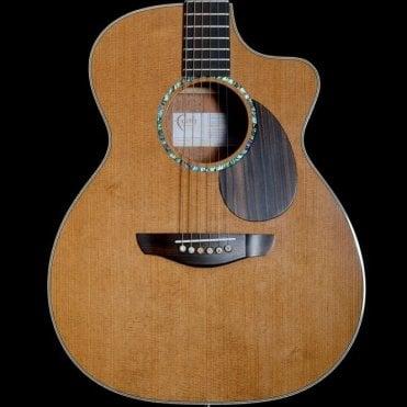 Patrick James Eggle Legacy Earth Cutaway Electro Acoustic Guitar, Ex Demo