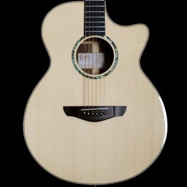 Hi-Gloss Percussive Venus Cutaway Electro-Acoustic Guitar, Ex Demo