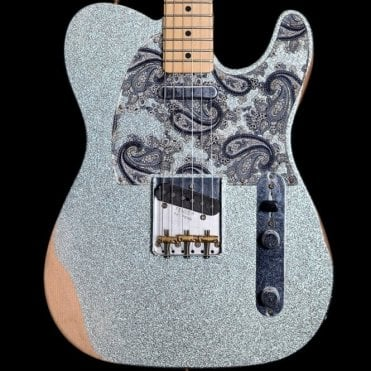 2017 Brad Paisley Signature Telecaster in Silver Sparkle, Pre-Owned