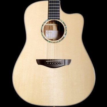 Hi-Gloss Saturn Dreadnought Cutaway Electro Acoustic Guitar