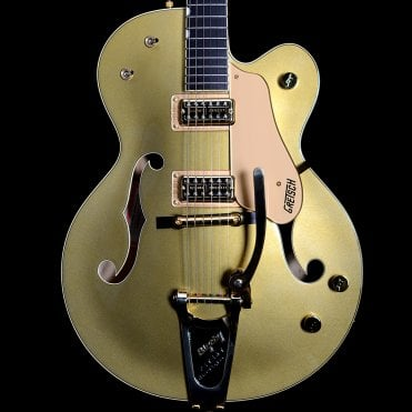2004 G6120GA Nashville Golden Anniversary Semi-Hollow Electric Guitar