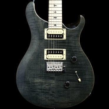 Ltd Edition Custom 24 w/ Maple Fingerboard, Grey Black