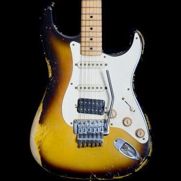 2014 Jason Smith Masterbuilt '56 Reissue 56er Stratocaster Relic, 2-Tone Sunburst