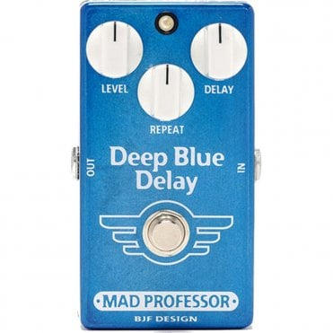 Deep Blue Delay Pedal