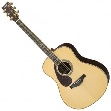 LL16 ARE Left Handed Acoustic Guitar - Natural (Box Open)