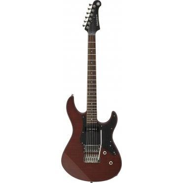 Yamaha Pacifica PA611VFMX (Matte Root Beer) Guitar (Refurbished)