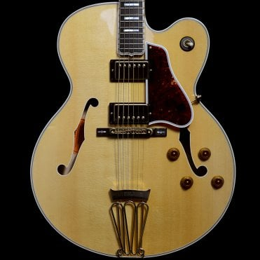 Custom Shop Byrdland Hollowbody Electric Guitar in Natural, Pre-Owned