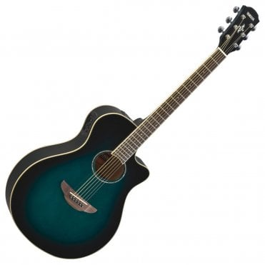Yamaha APX600 Acoustic Guitar in Oriental Blue Burst (Refurbished)