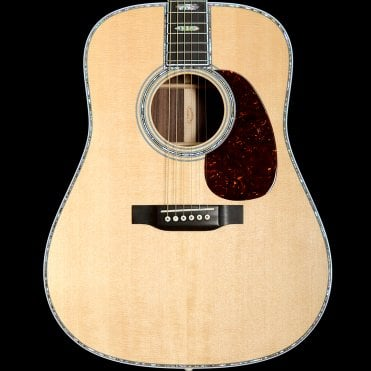 D-45 Dreadnought Acoustic Guitar with Rosewood Back and Sides, Pre-Owned