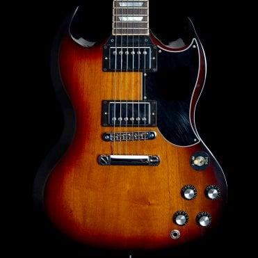 2015 SG Standard Electric Guitar in Tobacco Sunburst, Pre-Owned