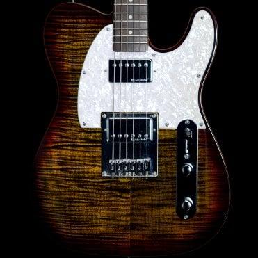 Michael Kelly 1953DB Electric Guitar in Dark Tigers Eye, Pre-Owned