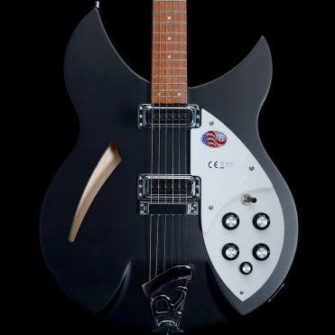 2018 330/6 Electric Guitar in Matte Black, #1842748