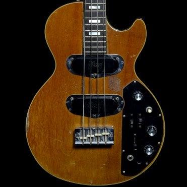 c. 1976 Les Paul Triumph Bass in Tobacco Sunburst, Pre-Owned