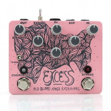 Excess Distortion Chorus & Delay
