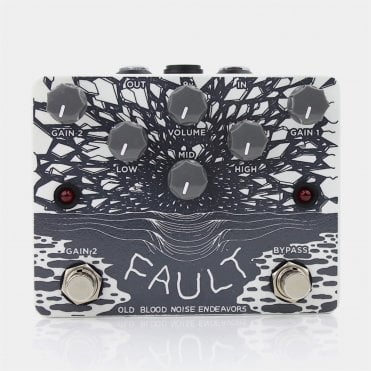 Fault Overdrive & Distortion Pedal