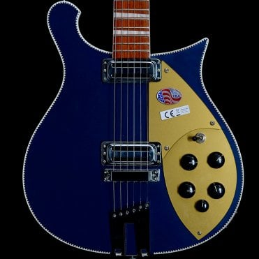 660 6-String Electric Guitar in Midnight Blue, #1809721