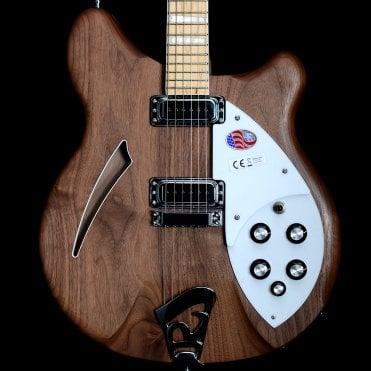 2018 360/6 Walnut 6-String Electric Semi-Hollow Guitar