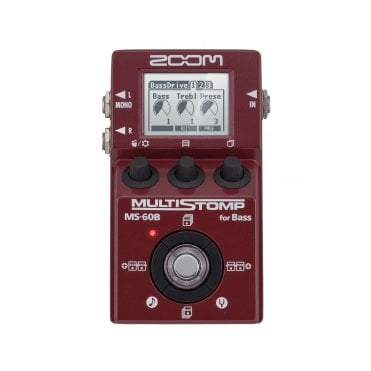 Multistomp MS-60B Bass Effects Pedal