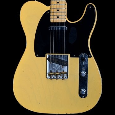 51 Nocaster Relic Electric Guitar in Butterscotch Blonde, Pre-Owned