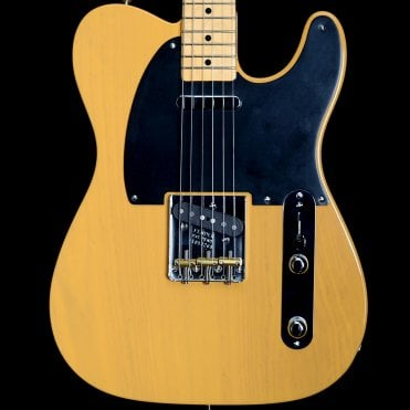 American Original 50's Telecaster Electric Guitar, Butterscotch Blonde