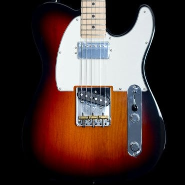 American Performer Telecaster HUM Electric Guitar, 3-Color Sunburst