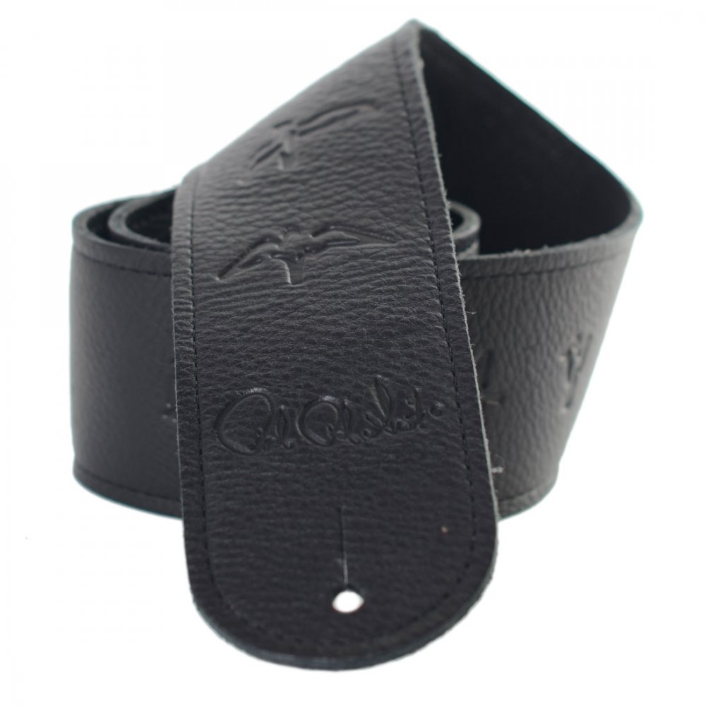 Prs Guitar Strap : prs birds leather guitar strap black sound affects premier ~ Vivirlamusica.com Haus und Dekorationen