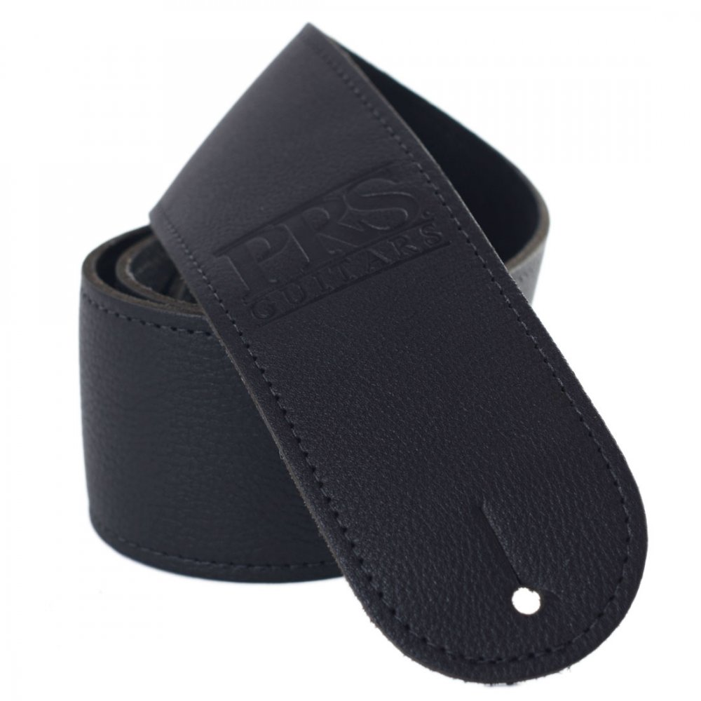 Prs Guitar Strap : prs logo leather guitar strap black sound affects premier ~ Vivirlamusica.com Haus und Dekorationen