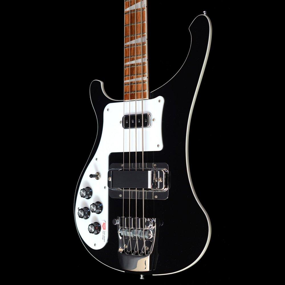 rickenbacker 4003 in jetglo left handed bass guitar ebay. Black Bedroom Furniture Sets. Home Design Ideas