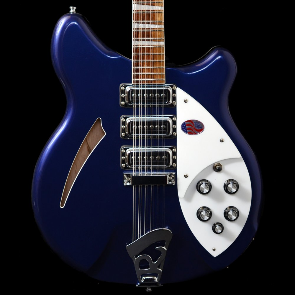 buy rickenbacker 370 12 string in midnight blue rare discontinued electric guitar. Black Bedroom Furniture Sets. Home Design Ideas