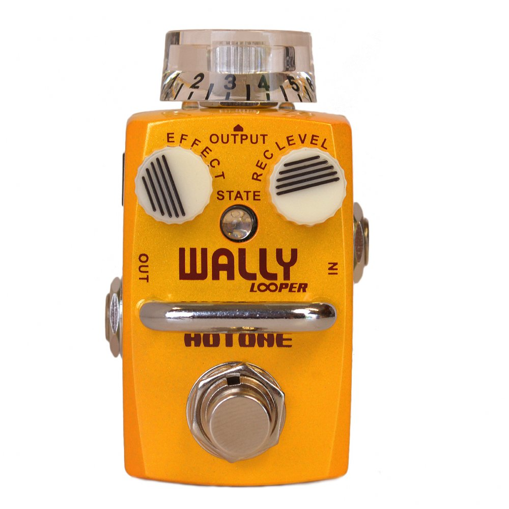 buy hotone wally looper loop station guitar effects pedal. Black Bedroom Furniture Sets. Home Design Ideas