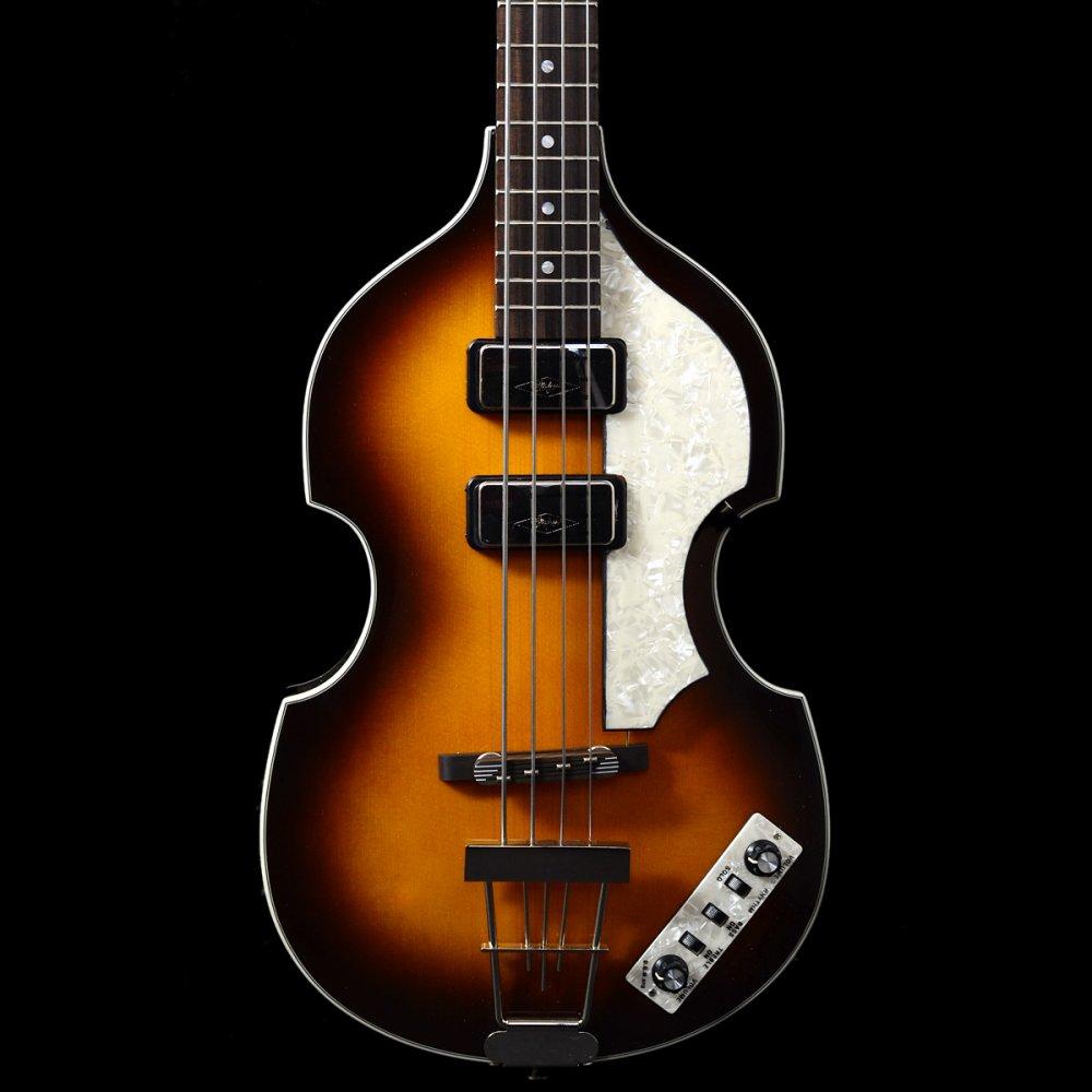 1 Contemporary Violin Bass Michaelieclark Hofner Wiring Diagram Hct 500 Cavern Spec Guitar In Sunburst