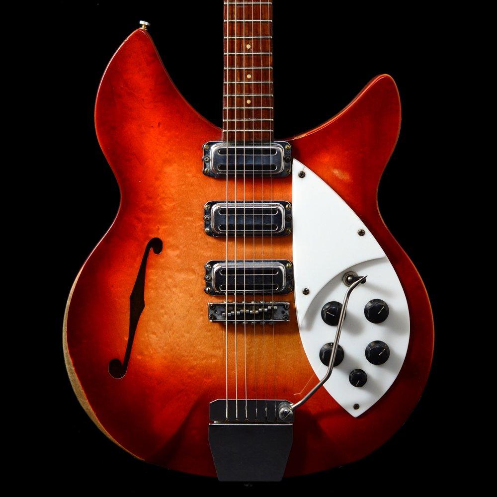 rickenbacker 1998 rose morris model 1964 fireglo vintage guitar ebay. Black Bedroom Furniture Sets. Home Design Ideas