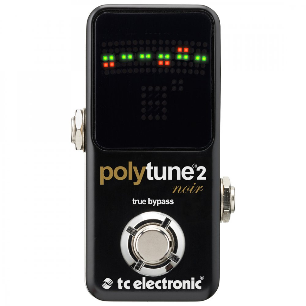 tc electronic polytune 2 noir mini guitar tuner sound affects premier. Black Bedroom Furniture Sets. Home Design Ideas