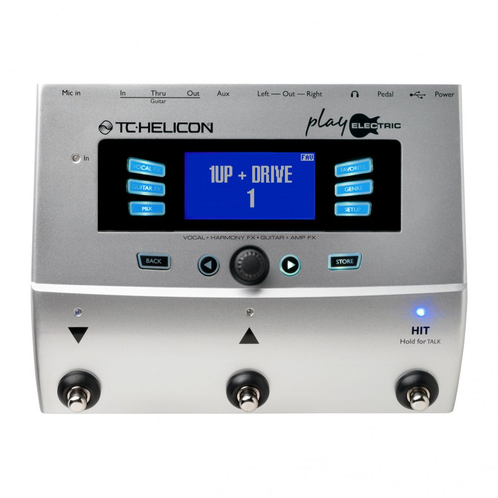 tc helicon play electric vocal guitar effects unit sound affects premier. Black Bedroom Furniture Sets. Home Design Ideas