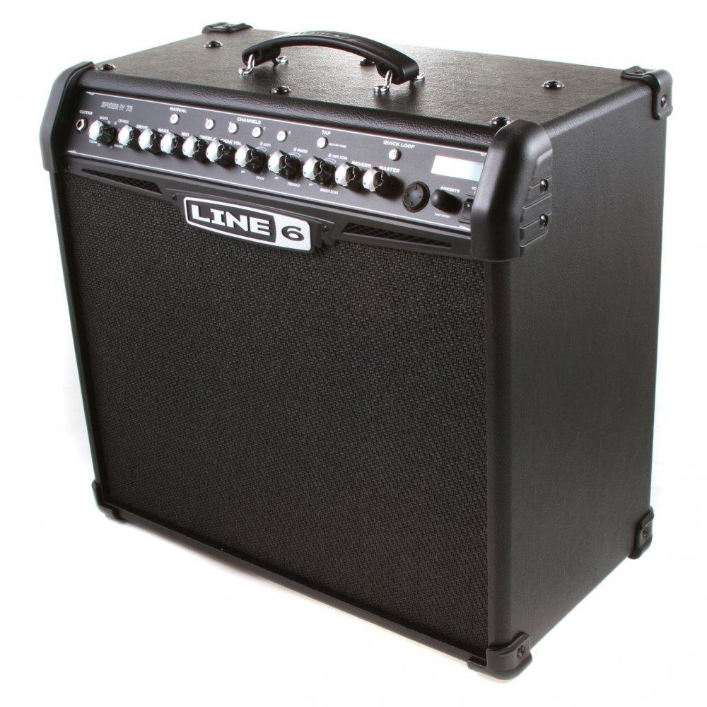 line 6 spider iv 75 watt combo amplifier buy line 6. Black Bedroom Furniture Sets. Home Design Ideas