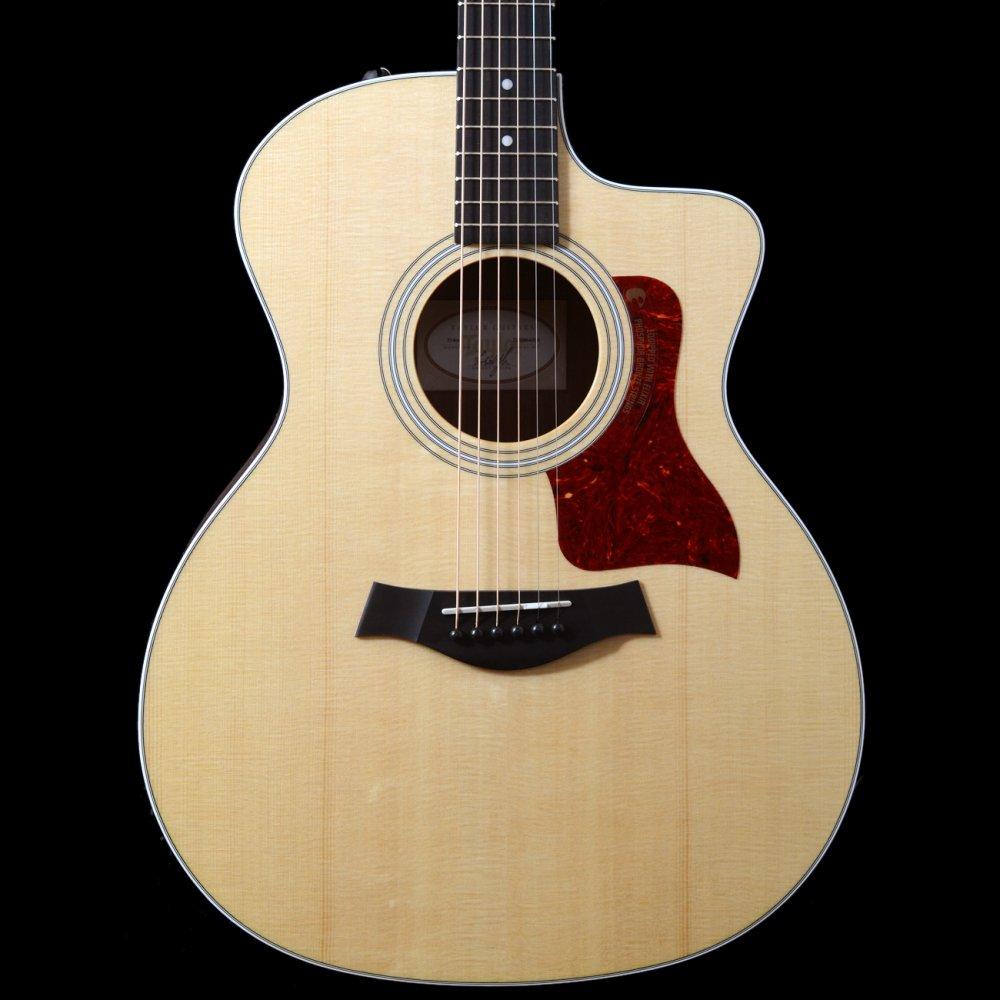 buy taylor 214ce grand auditorium electro acoustic guitar in natural. Black Bedroom Furniture Sets. Home Design Ideas