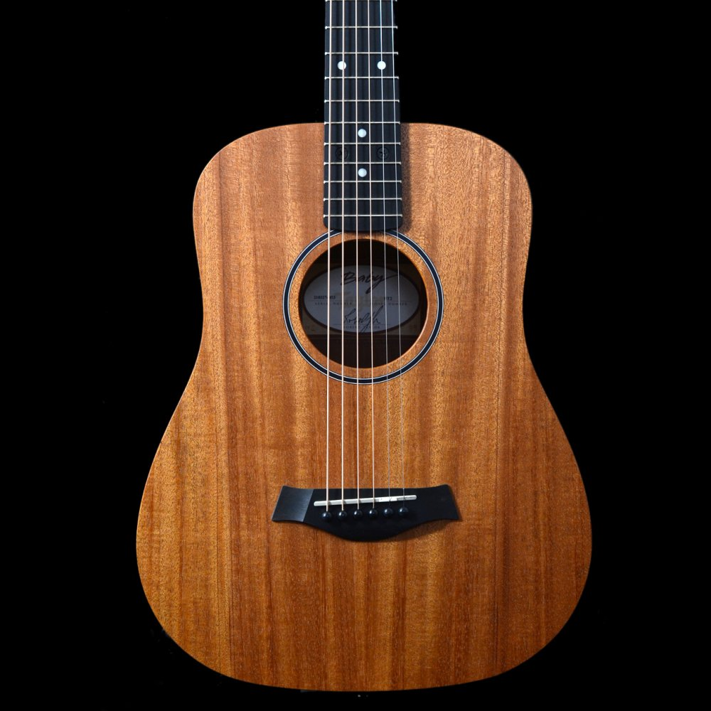 taylor bt2 baby taylor travel acoustic guitar with mahogany top ebay