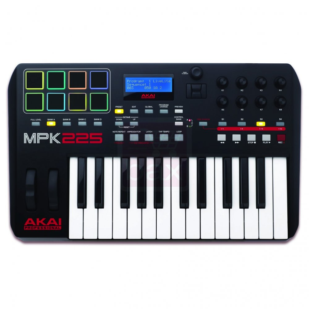 akai mpk 225 compact keyboard controller buy akai. Black Bedroom Furniture Sets. Home Design Ideas
