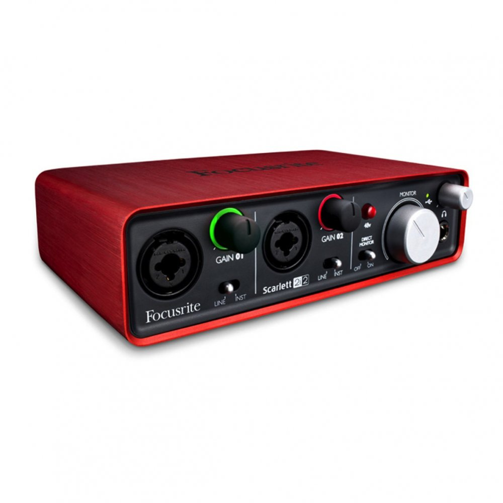 focusrite scarlett 2i2 audio interface buy focusrite. Black Bedroom Furniture Sets. Home Design Ideas