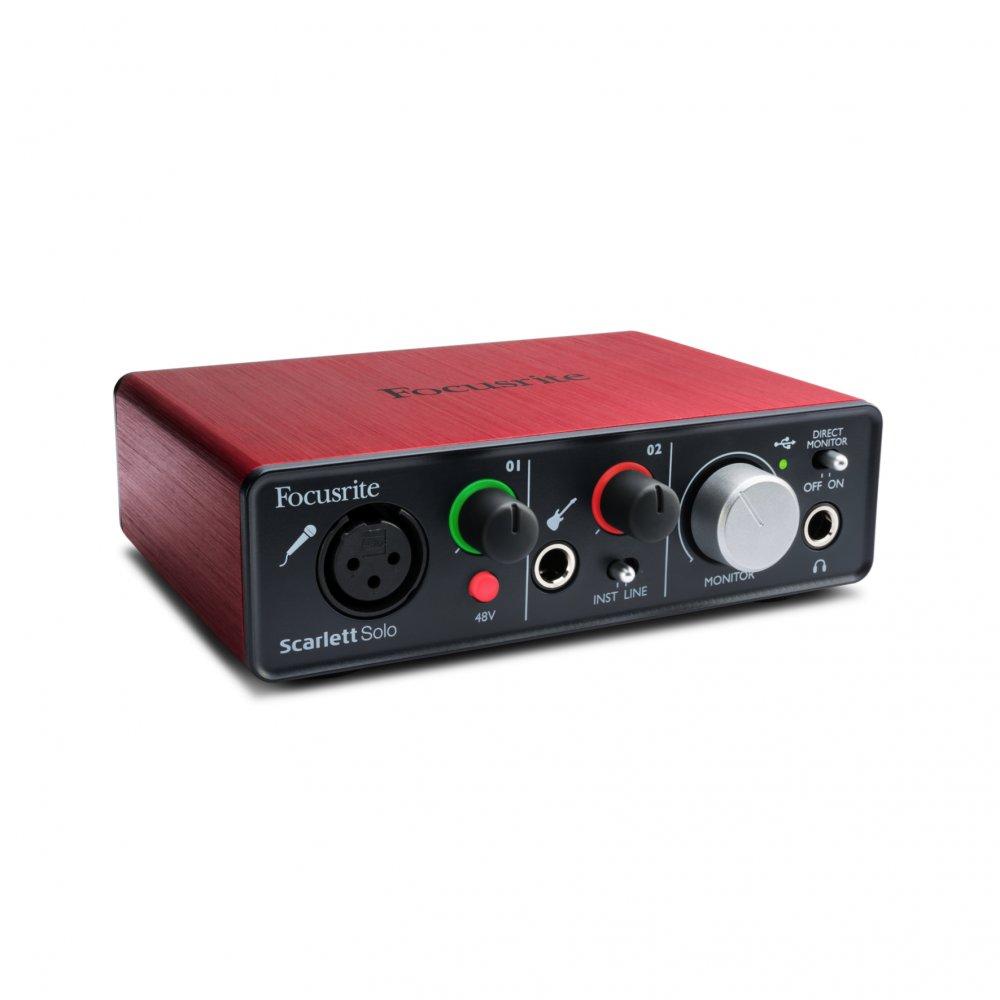 buy focusrite scarlett solo audio interface buy focusrite. Black Bedroom Furniture Sets. Home Design Ideas