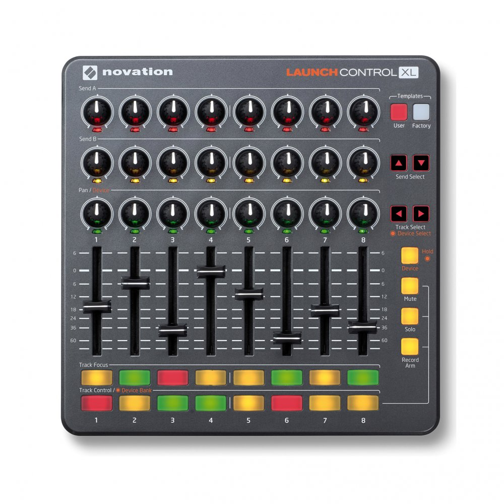 novation launch control xl ableton live controller buy novation. Black Bedroom Furniture Sets. Home Design Ideas