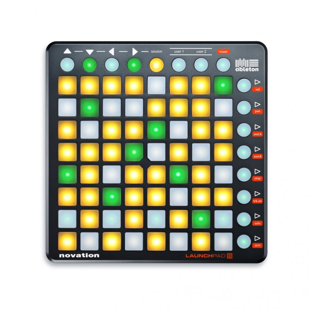 novation launchpad s usb midi controller buy novation. Black Bedroom Furniture Sets. Home Design Ideas