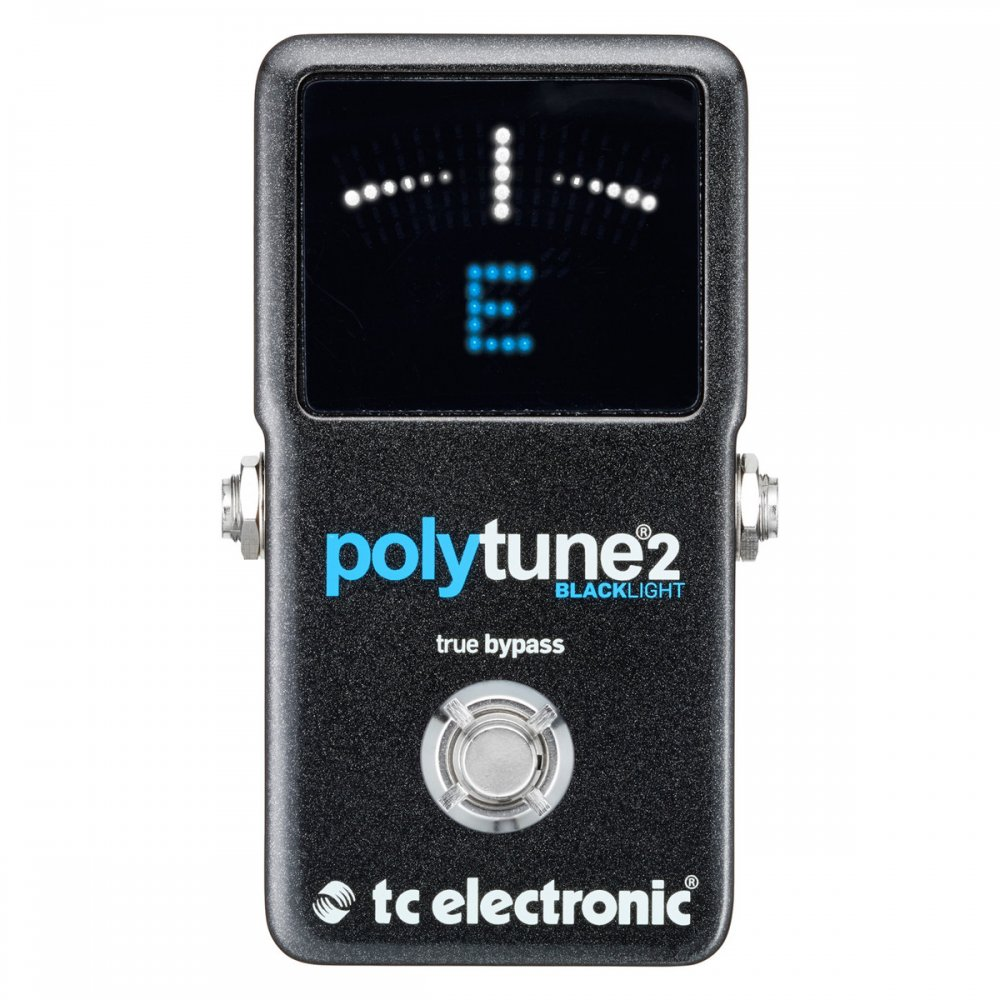 buy tc electronic polytune 2 blacklight polyphonic tuner. Black Bedroom Furniture Sets. Home Design Ideas