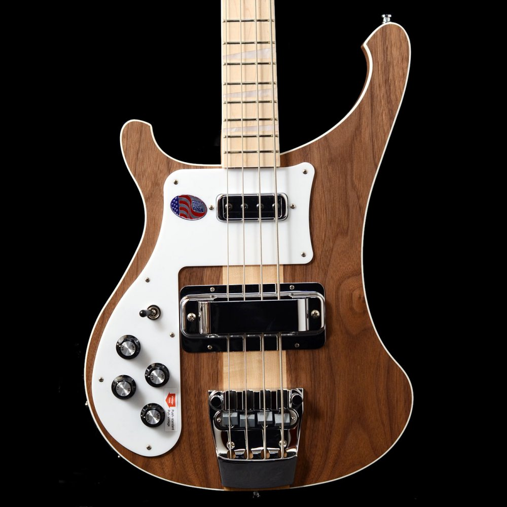 Rickenbacker 4003 Lefty Walnut Left Handed Bass Guitar, Walnut Limited