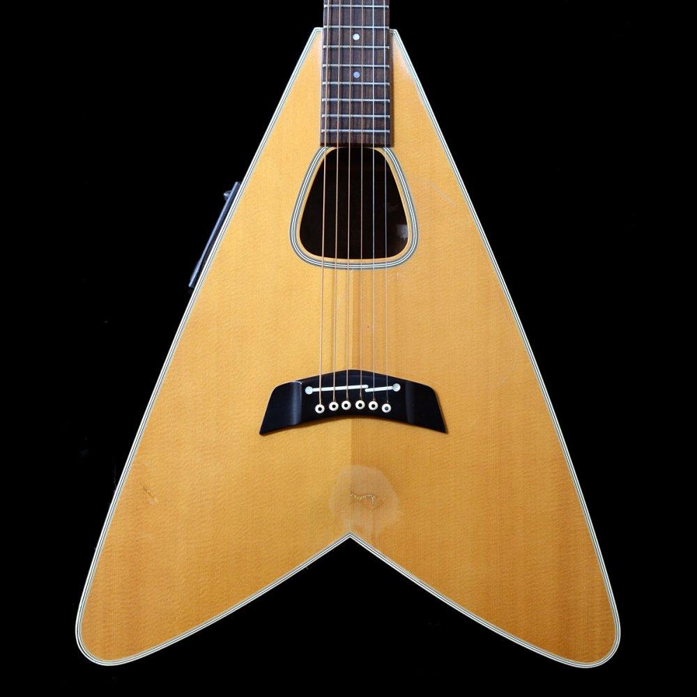 1983 takamine ea 360 flying v acoustic guitar in natural. Black Bedroom Furniture Sets. Home Design Ideas
