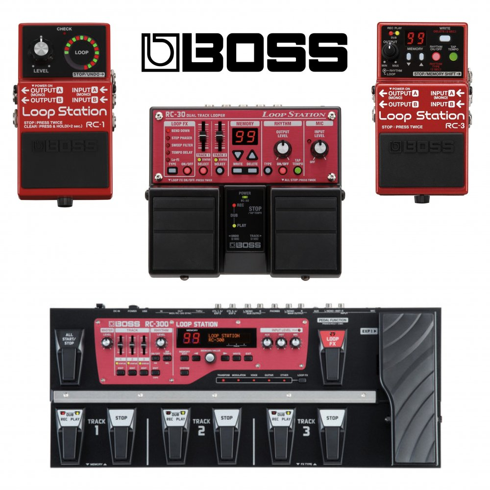 boss loop station rc30