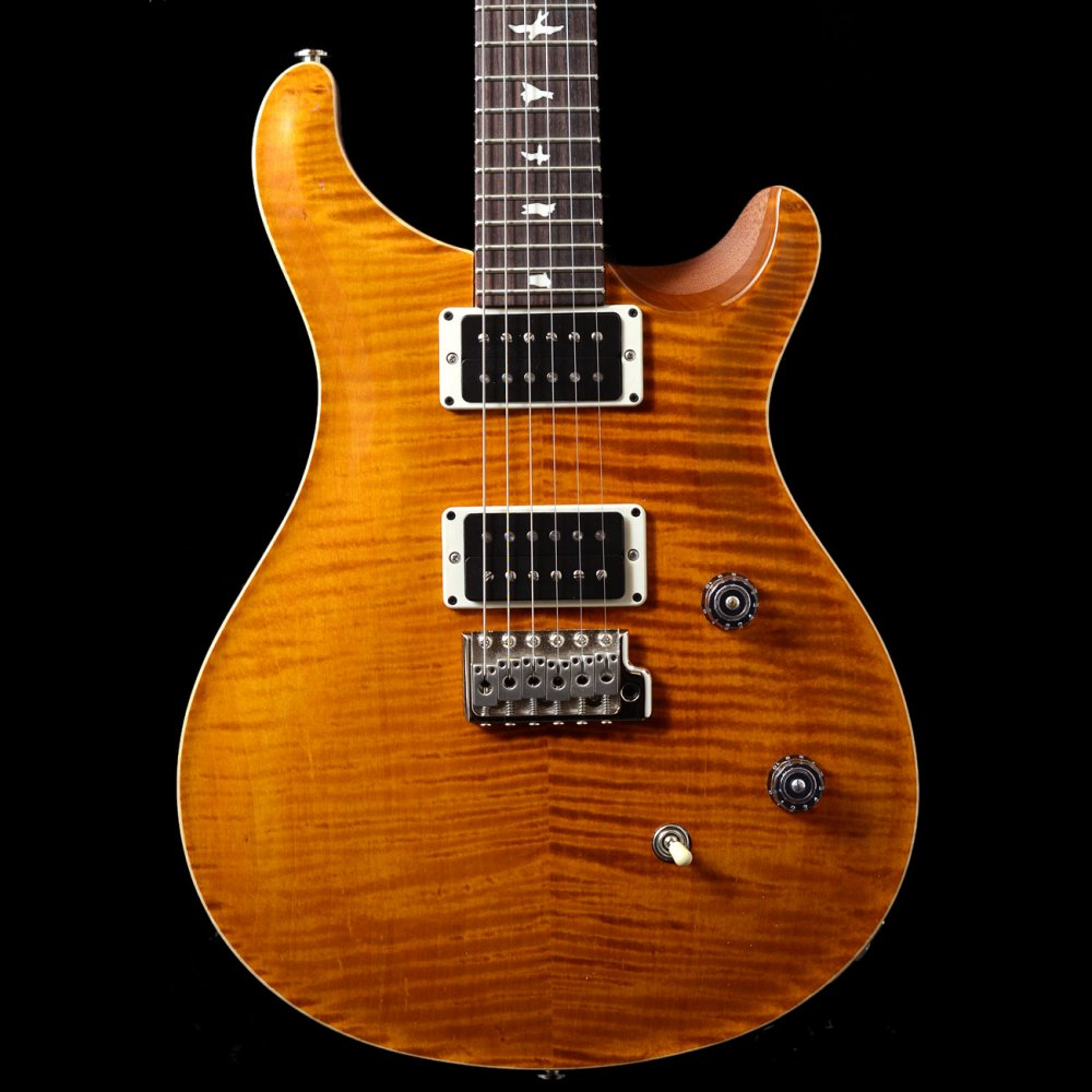2016 prs ce 24 classic electric bolt on maple neck in amber. Black Bedroom Furniture Sets. Home Design Ideas